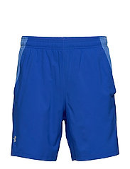 UA LAUNCH SW 7'' SHORT - VERSA BLUE