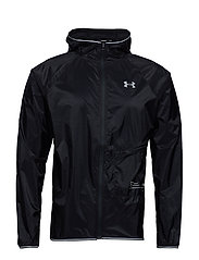UA QUALIFIER STORM PACKABLE JACKET - BLACK