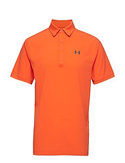 Playoff Vented Polo - ORANGE