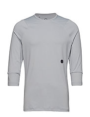 UA Rush 3/4 Sleeve - GRAY