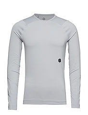 UA Rush Compression LS - GRAY