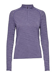 Tour Tips 1/4 Zip - PURPLE