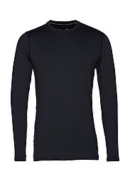 UA ColdGear Fitted Crew - BLACK