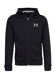 EU Cotton Fleece Full Zip - BLACK