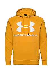 RIVAL FLEECE SPORTSTYLE LOGO HOODIE - GOLDEN YELLOW