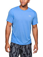 Under Armour - M UA Streaker 2.0 Shift Crew - urheilutopit - water - 0