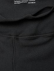 Under Armour - UA HG Armour Shine Perforation Ankle Cro - juoksu- & treenitrikoot - black - 4