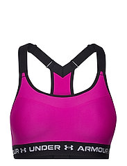 Armour High Crossback Bra - METEOR PINK
