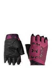 UA Graphic Training Gloves - PINK QUARTZ
