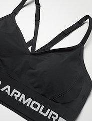 Under Armour - UA Seamless Low Long Bra - sport bras: low - black - 2
