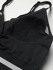 Under Armour - UA Seamless Low Long Bra - sport bras: low - black - 3