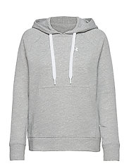 UA Rival Terry PO HOODIE - STEEL FULL HEATHER