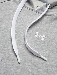 Under Armour - UA Rival Terry PO HOODIE - huvtröjor - steel full heather - 2