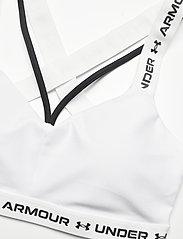 Under Armour - UA Crossback Low - soft bras - white - 2