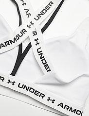 Under Armour - UA Crossback Low - soft bras - white - 3