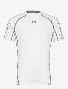 UA HG ARMOUR SS - WHITE