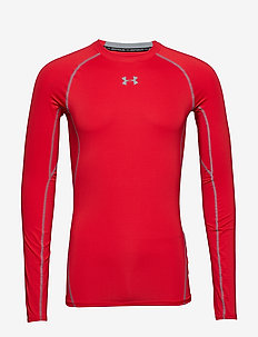 UA HG ARMOUR LS - RISK RED