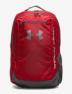 UA Hustle Backpack LDWR - RED