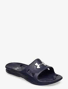 UA M Locker III SL - pool sliders - midnight navy