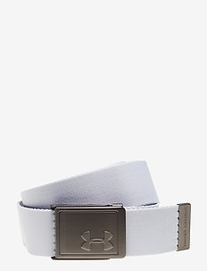 UA Men's Webbing 2.0 Belt - skärp - white