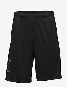UA TECH GRAPHIC SHORT - spodenki treningowe - black