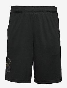 UA TECH GRAPHIC SHORT - BLACK
