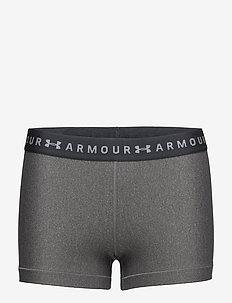 UA HG Armour Shorty - training shorts - charcoal light heather