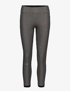 UA HG Armour Ankle Crop - compression tights - charcoal light heather