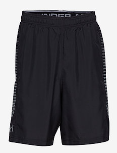 WOVEN GRAPHIC SHORT - sports shorts - black
