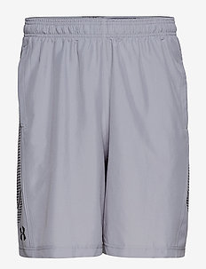 WOVEN GRAPHIC SHORT - sportshorts - steel
