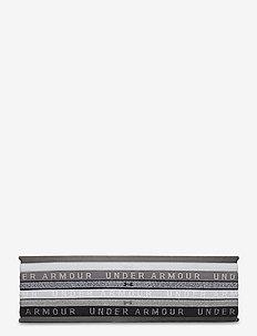 UA Heather Mini Headband (6pk) - chouchous - overcast gray