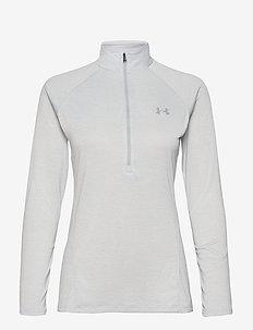 NEW TECH 1/2 ZIP  - topjes met lange mouwen - halo gray