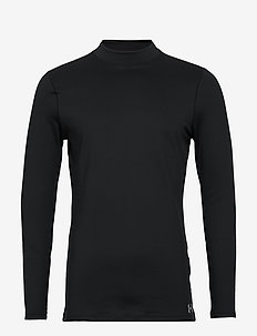 UA Armour CG Fitted Mock - BLACK