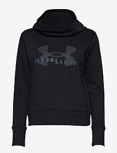 Cotton Fleece Sportstyle Logo hoodie - BLACK