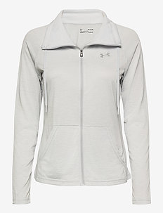 Tech Full Zip Twist - sweatshirts - halo gray