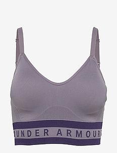 Seamless Longline Bra - sport bras: low - flint