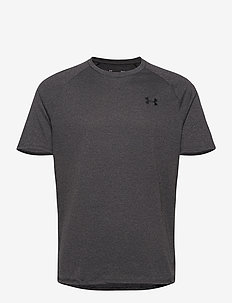 UA Tech 2.0 SS Tee - sports tops - carbon heather