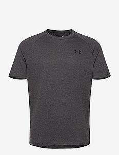 UA Tech 2.0 SS Tee - t-shirts - carbon heather