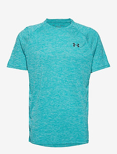 UA Tech 2.0 SS Tee - TEAL RUSH