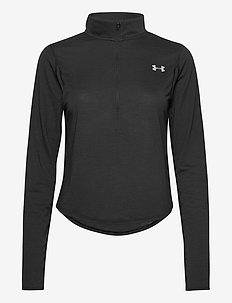 UA Streaker 2.0 Half Zip - bluzki z długim rękawem - black