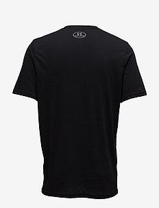 UA SPORTSTYLE LC SS - t-shirts - black