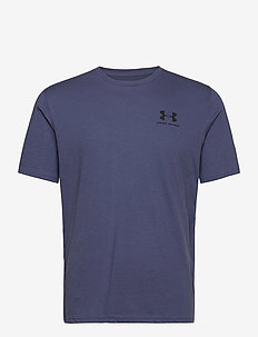 UA SPORTSTYLE LC SS - t-shirts - blue ink