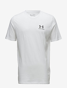 UA SPORTSTYLE LC SS - t-shirts - white