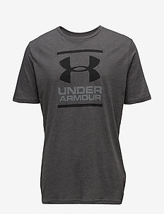 UA GL Foundation SS T - CHARCOAL MEDIUM HEATHER