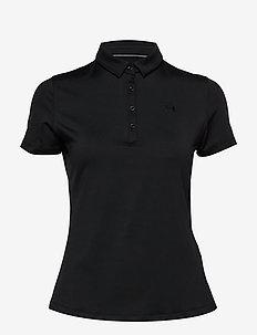 Zinger Short Sleeve Polo - BLACK