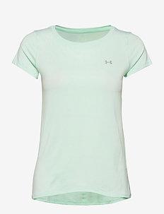 UA HG Armour SS - t-shirts - seaglass blue