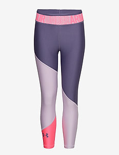 Armour HG Color Block Ankle Crop - PURPLE