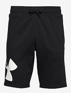 RIVAL FLEECE LOGO SWEATSHORT - BLACK