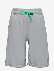 UA Prototype Wordmark Shorts - MOD GRAY LIGHT HEATHER