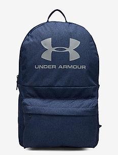 UA Loudon Backpack - träningsväskor - academy medium heather
